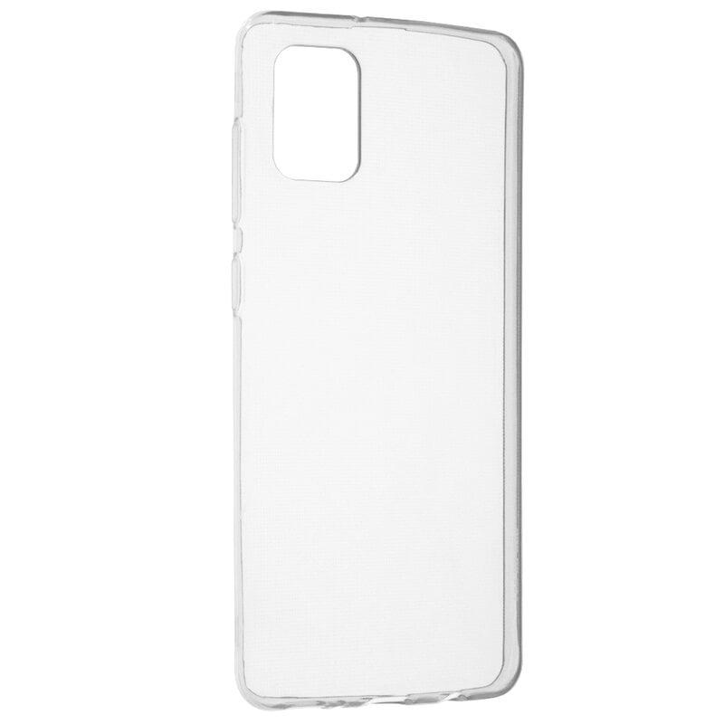 Husa silicon pentru Samsung Galaxy A31, Clear Case, Transparent