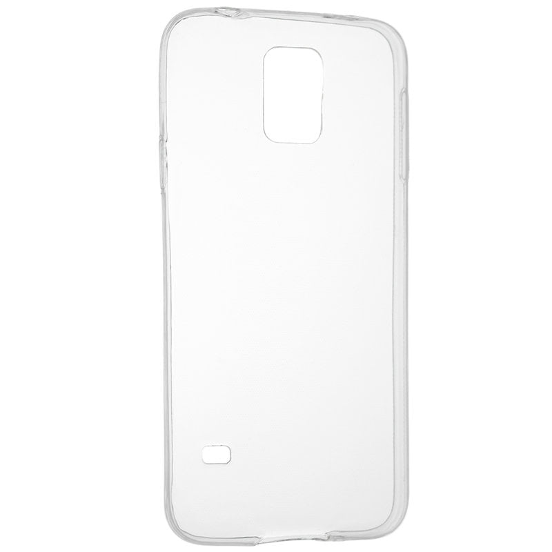 Husa silicon pentru Samsung Galaxy S5 Mini, Clear Case, Transparent