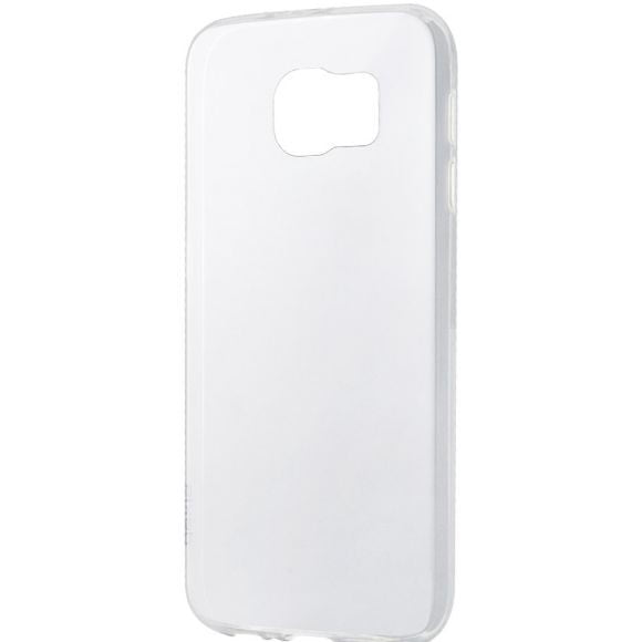 Husa silicon pentru Samsung Galaxy S6 Edge, Clear Case, Transparent