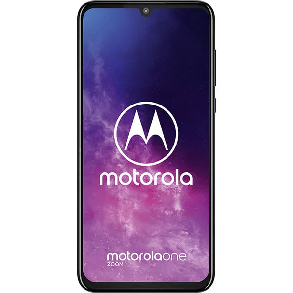 Telefon mobil Motorola One Zoom, Single SIM, 128GB, 4GB RAM, 4G, Cosmic Purple