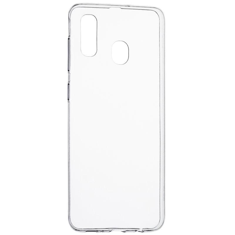 Husa silicon pentru Samsung Galaxy A20, Clear Case, Transparent