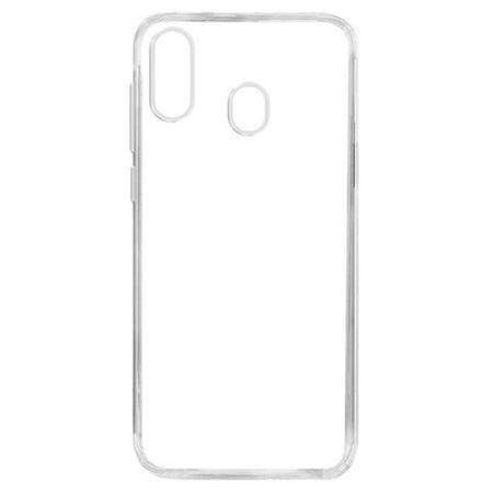 Husa silicon pentru Samsung Galaxy A40, Clear Case, Transparent