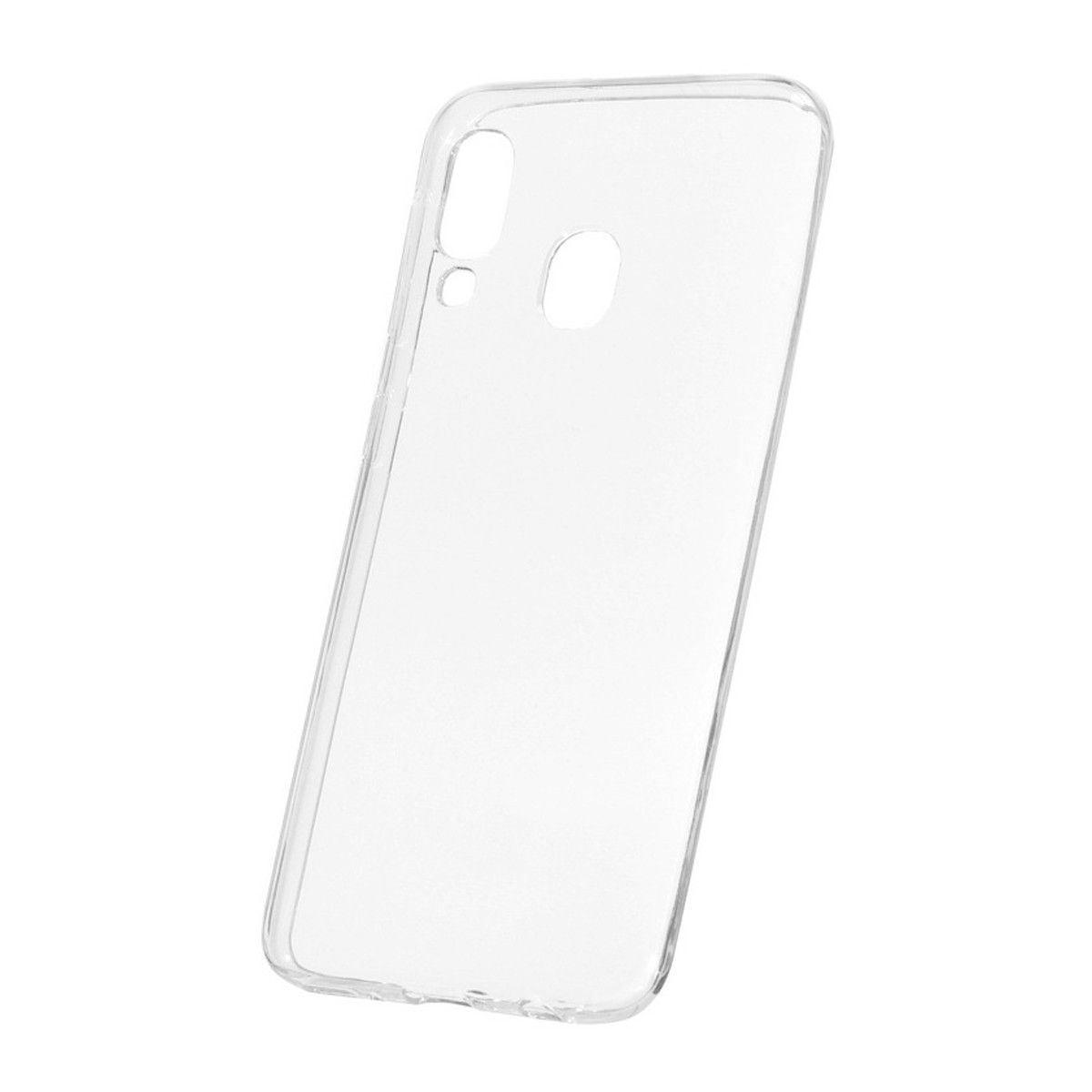 Husa silicon pentru Samsung Galaxy M30/ A40S, Clear Case, Transparent