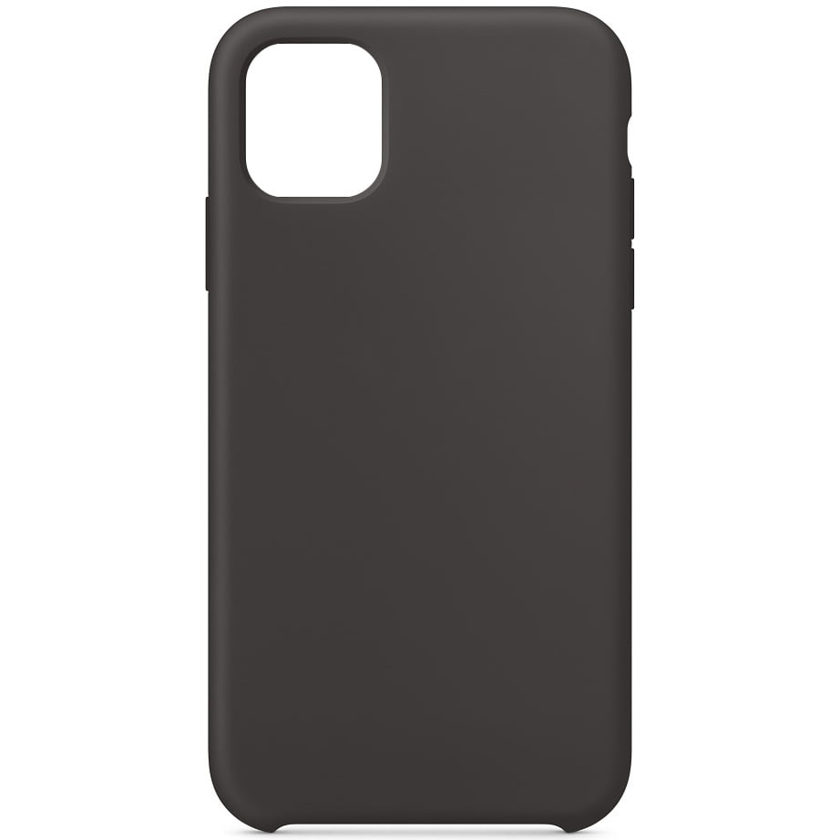 Husa silicon pentru Apple iPhone 11, Soft Case, Black