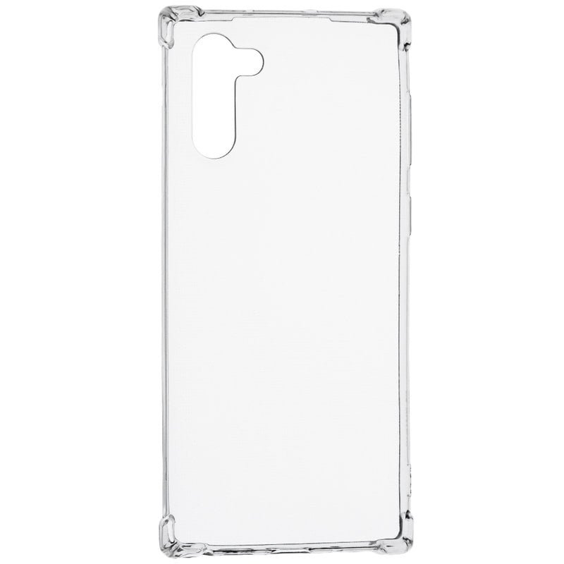 Husa silicon pentru Samsung Galaxy Note 10, Clear Case, Transparent