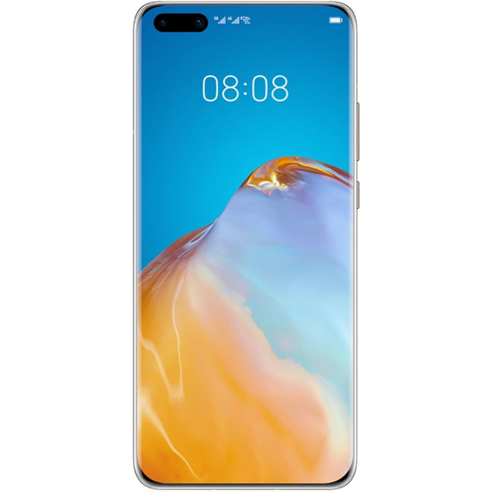 Telefon mobil Huawei P40 Pro, Dual SIM, 256GB, 8GB RAM, 5G, Blush Gold