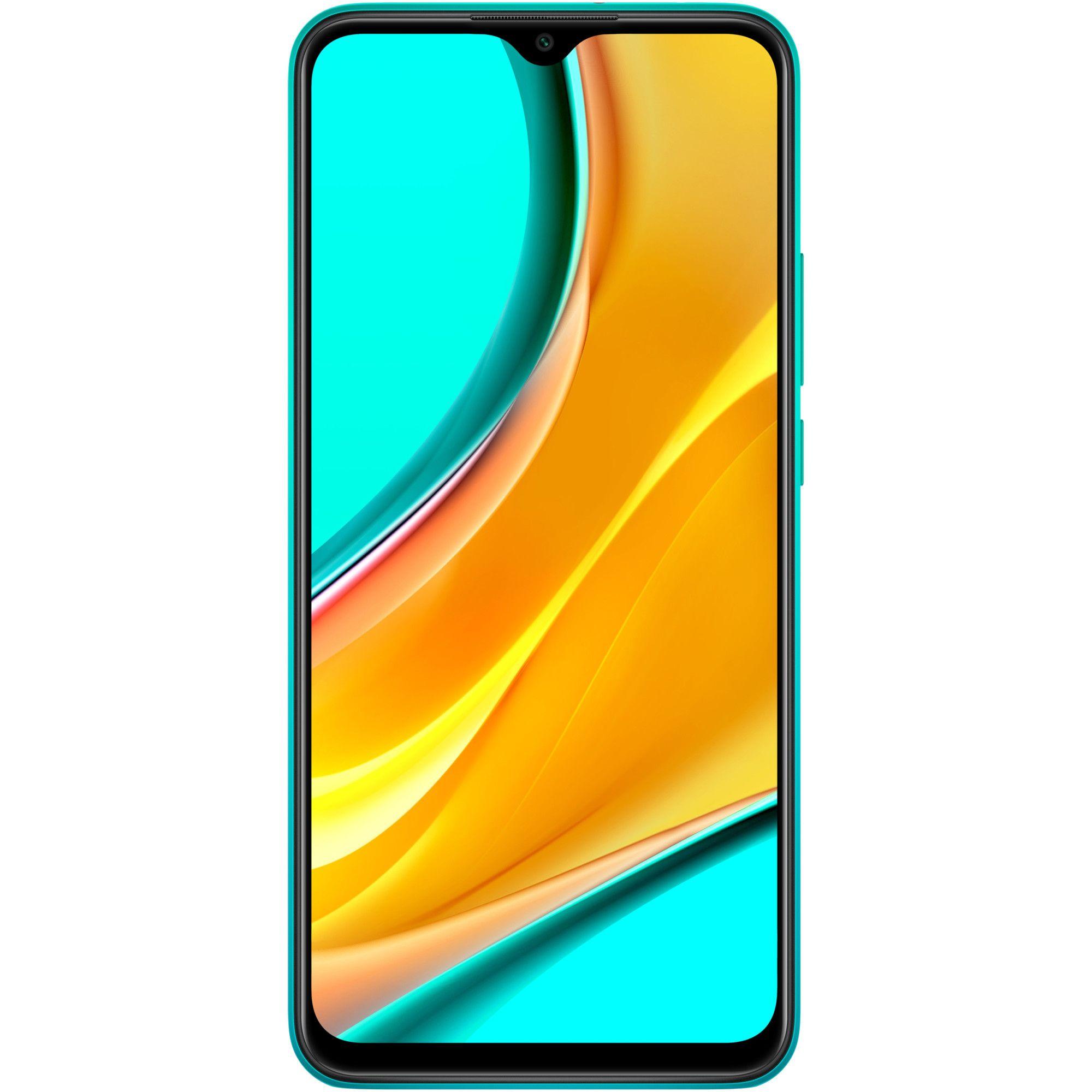 Telefon mobil Xiaomi Redmi 9, Dual SIM, 32GB, 3GB RAM, 4G, Ocean Green