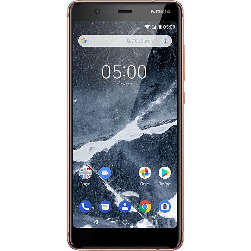 Telefon mobil Nokia 5.1 (2018), Dual SIM, 16GB, 2GB RAM, 4G, Copper