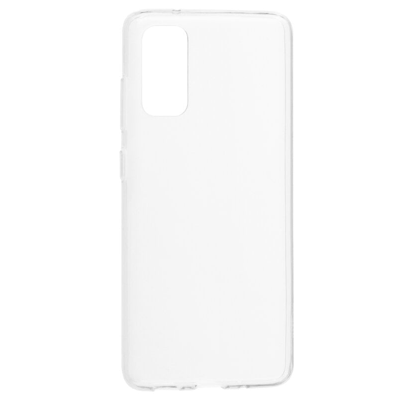 Husa silicon pentru Samsung Galaxy S20 Ultra, Clear Case, Transparent