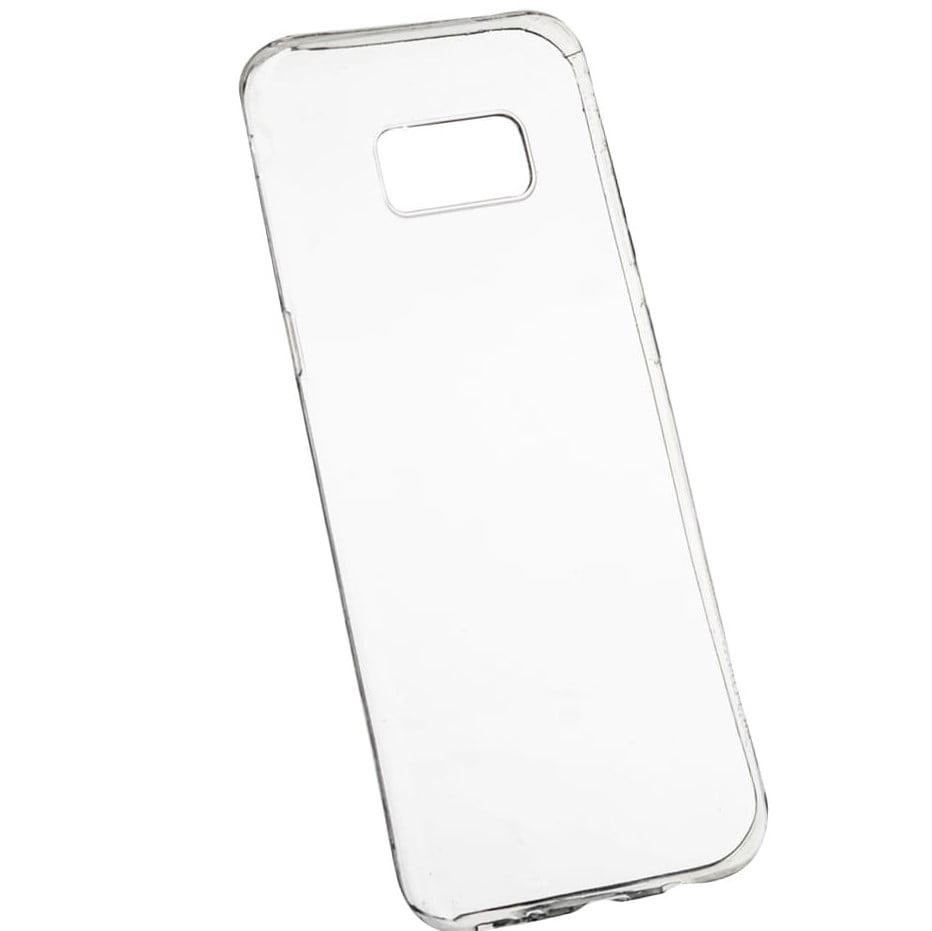 Husa silicon pentru Samsung Galaxy S8 Plus, Clear Case, Transparent