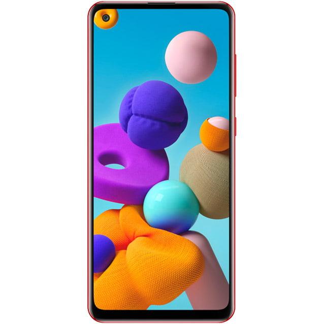 Telefon mobil Samsung Galaxy A21s, A217, Dual SIM, 64GB, 4GB RAM, 4G, Red