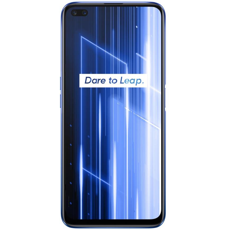 Telefon mobil Realme X50, Dual SIM, 128GB, 6GB RAM, 5G, Ice Silver
