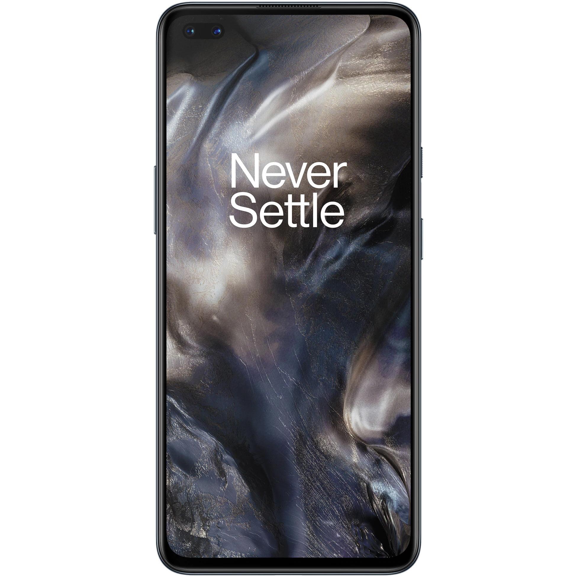 Telefon mobil OnePlus Nord, Dual SIM, 128GB, 8GB RAM, 5G, Gray Onyx
