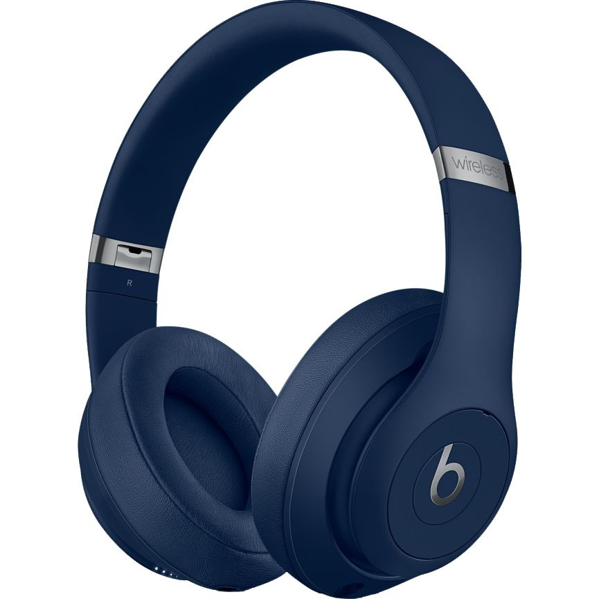 Casti audio On-Ear Beats Studio 3, Wireless, Noise Cancelling, Blue