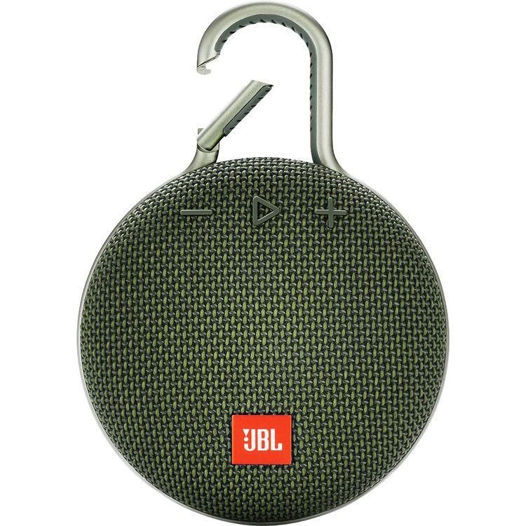 Boxa portabila JBL Clip 3, Bluetooth, IPX7 Waterproof, Green
