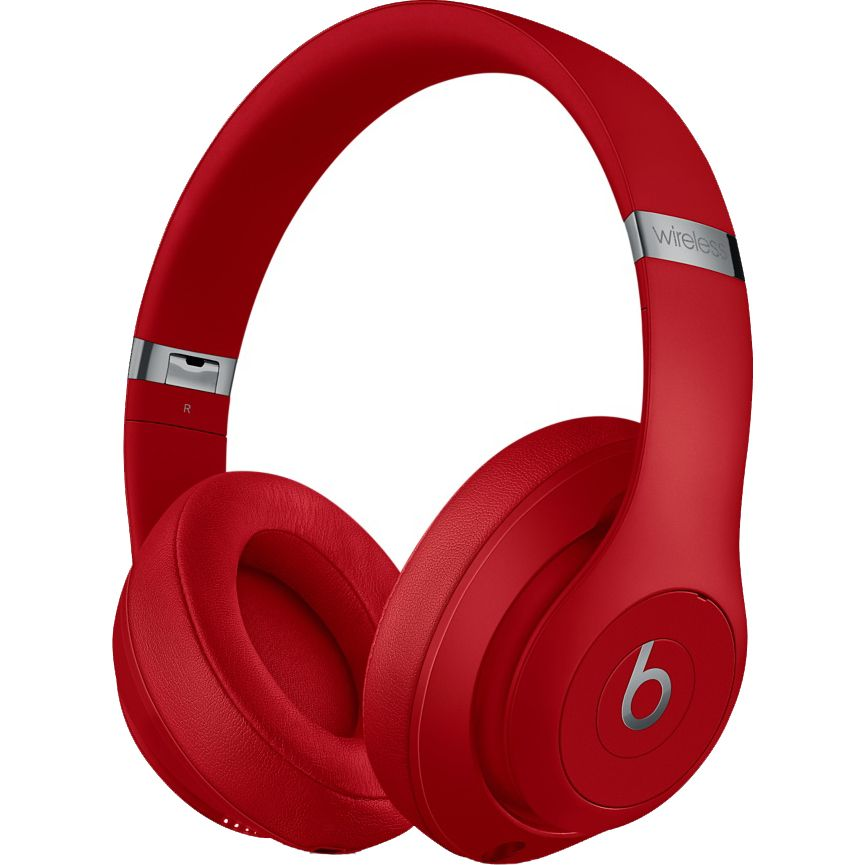 Casti audio On-Ear Beats Studio 3, Wireless, Noise Cancelling, Red
