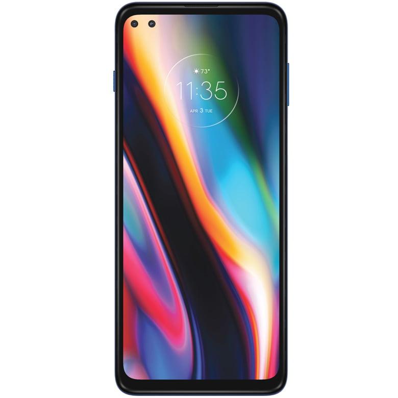 Telefon mobil Motorola Moto G 5G Plus, Dual SIM, 128GB, 6GB RAM, 5G, Surfing Blue