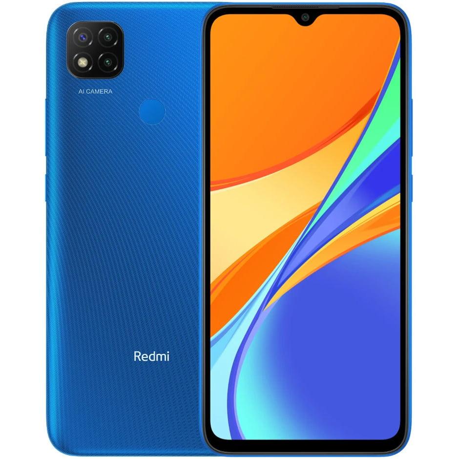 Telefon mobil Xiaomi Redmi 9C, Dual SIM, 64GB, 3GB RAM, 4G, Twilight Blue