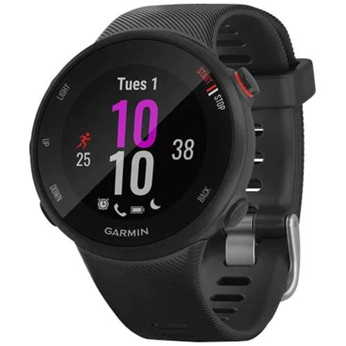 Ceas Smartwatch Garmin Forerunner 45S, 42mm, Black