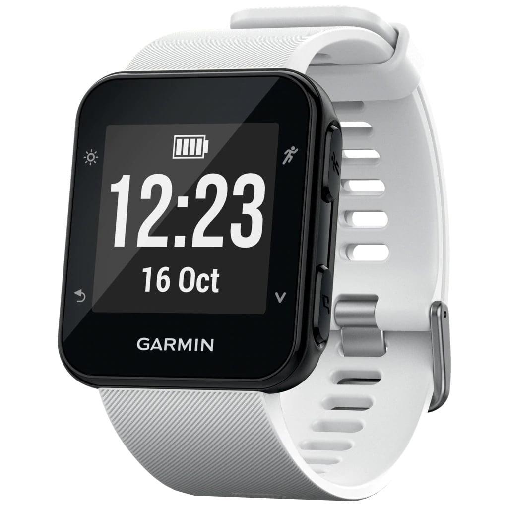 Ceas Smartwatch Garmin Forerunner 35, GPS, HR, White