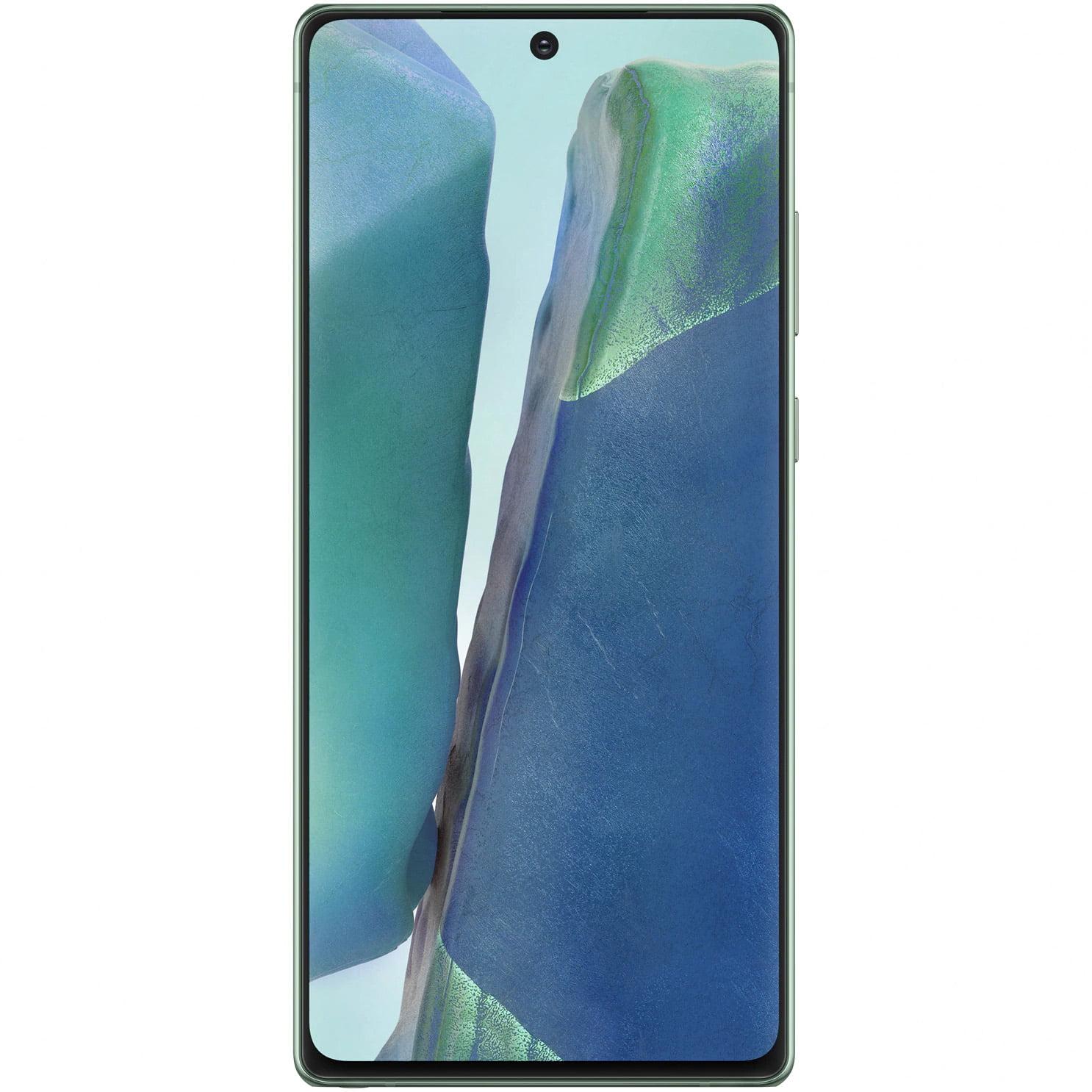 Telefon mobil Samsung Galaxy Note 20, Dual SIM, 256GB, 8GB RAM, 5G, Mystic Green