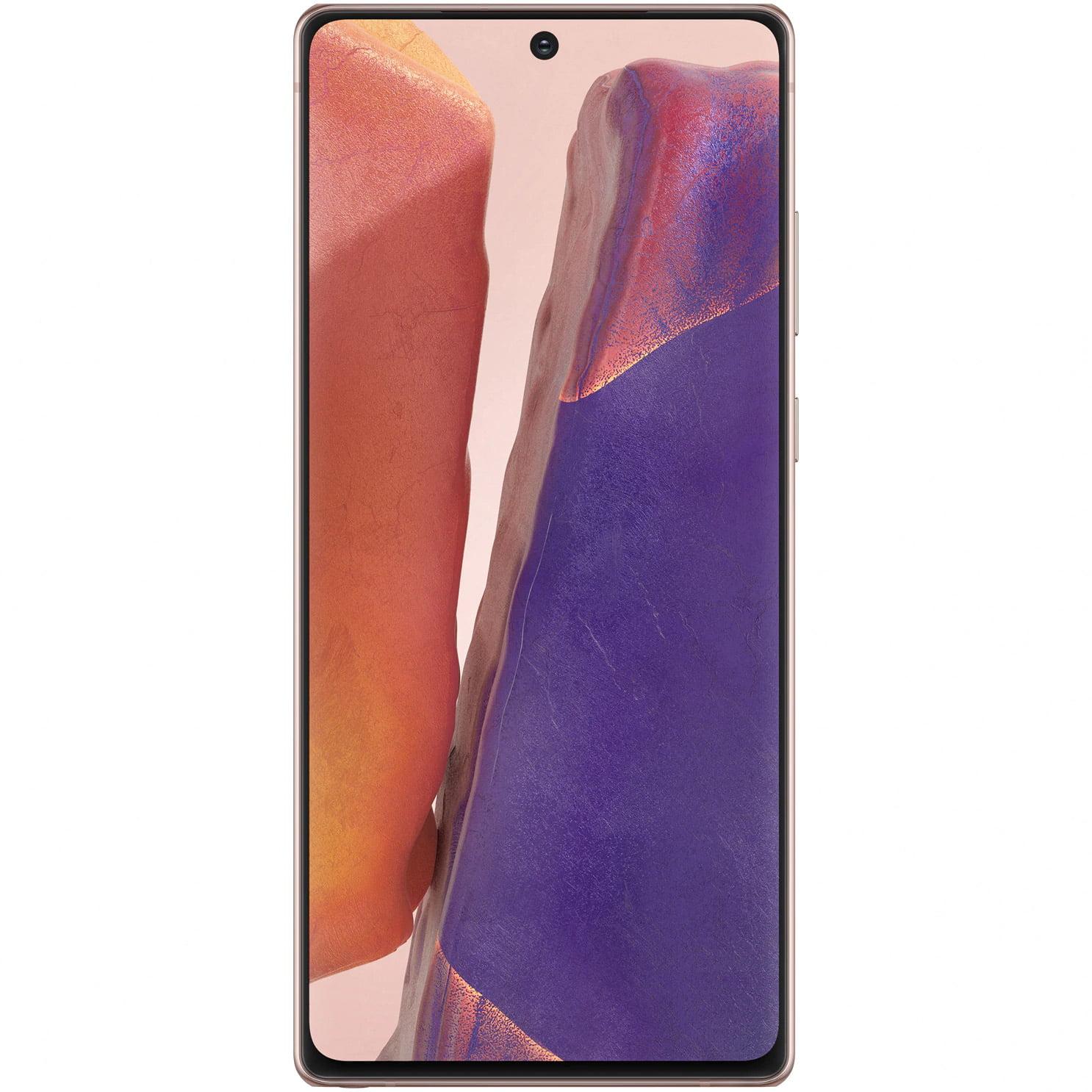 Telefon mobil Samsung Galaxy Note 20, Dual SIM, 256GB, 8GB RAM, 5G, Mystic Bronze