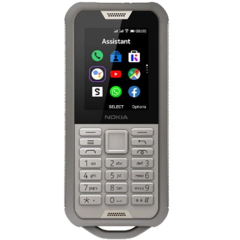 Telefon mobil Nokia 800 Tough, Dual SIM, 4GB, 512MB RAM, 4G, Sand
