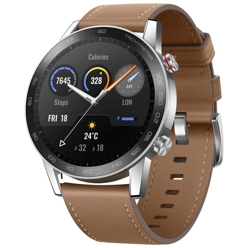 Ceas Smartwatch Honor Watch Magic 2, 46 mm, HR, GPS, Steel