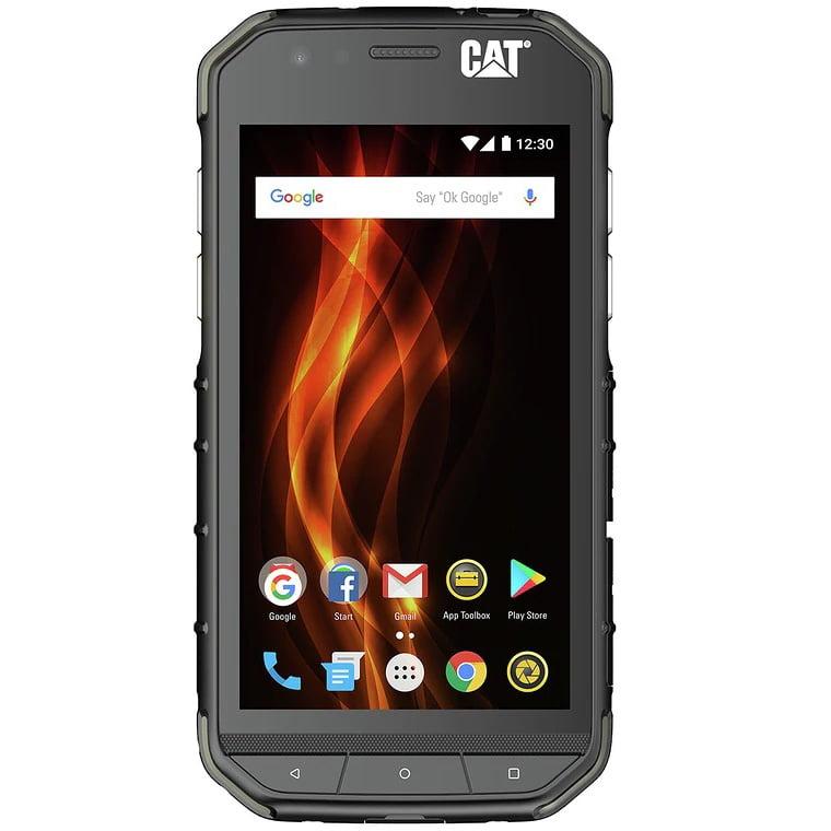 Telefon mobil CAT S31, Dual SIM, 12GB, 2GB RAM, 4G, Black