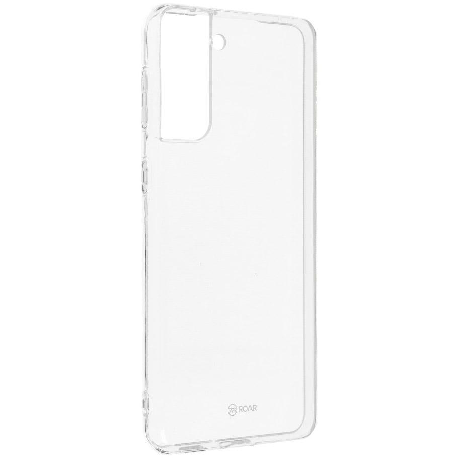 Husa Silicon Roar Jelly pentru Samsung Galaxy S21 Plus, Transparent