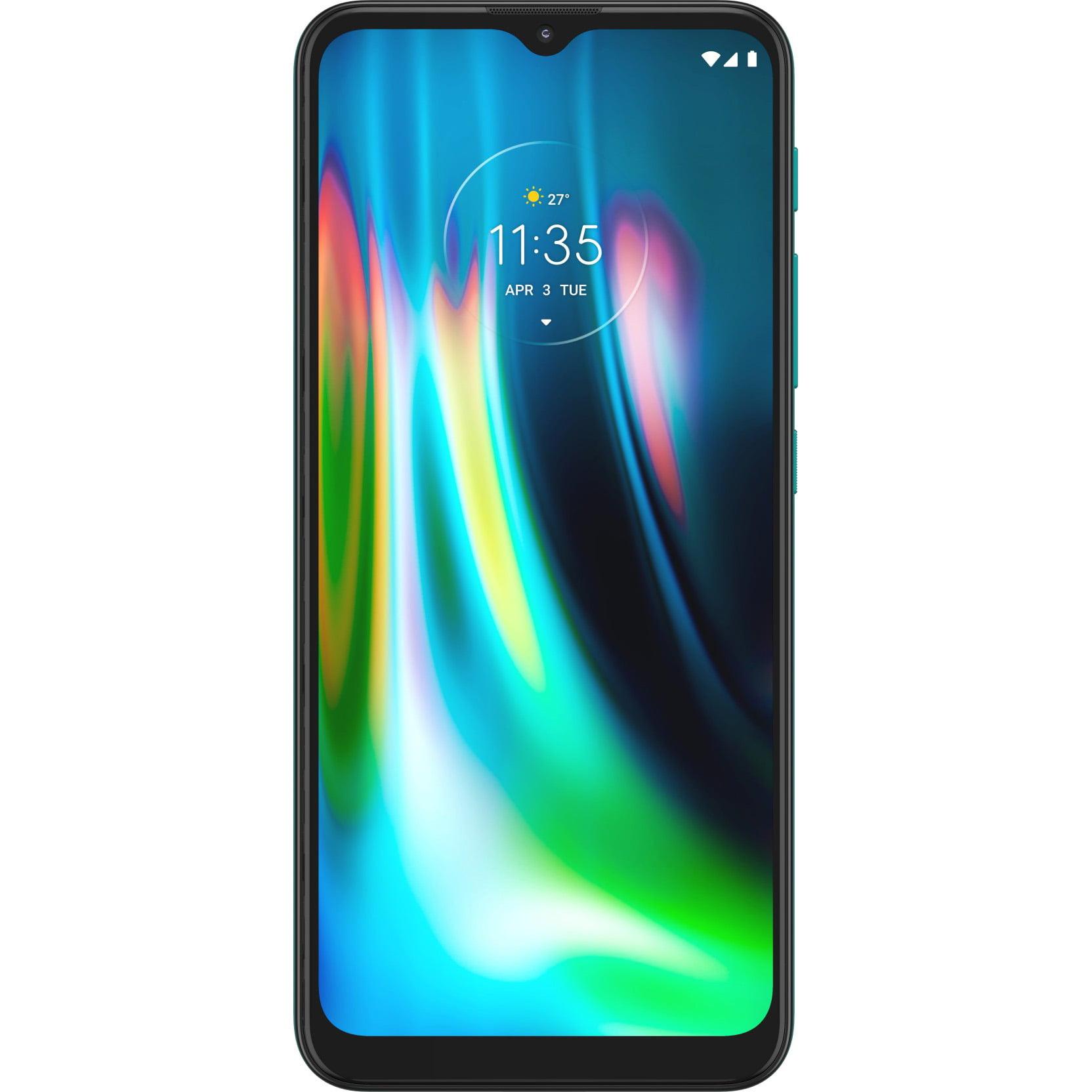 Telefon mobil Motorola Moto G9 Play, Dual SIM, 64GB, 4GB RAM, 4G, Forest Green