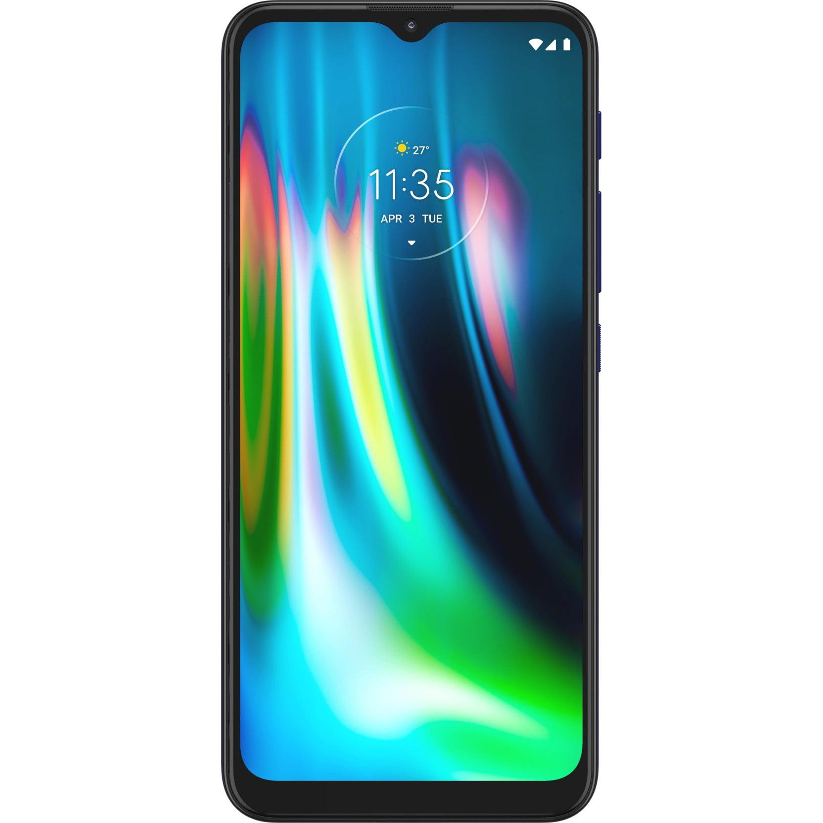 Telefon mobil Motorola Moto G9 Play, Dual SIM, 64GB, 4GB RAM, 4G, Sapphire Blue