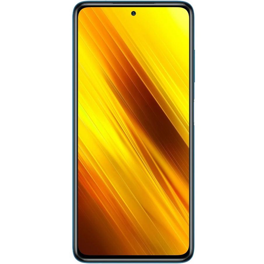 Telefon mobil Xiaomi Poco X3 NFC, Dual SIM, 128GB, 6GB RAM, 4G, Cobalt Blue