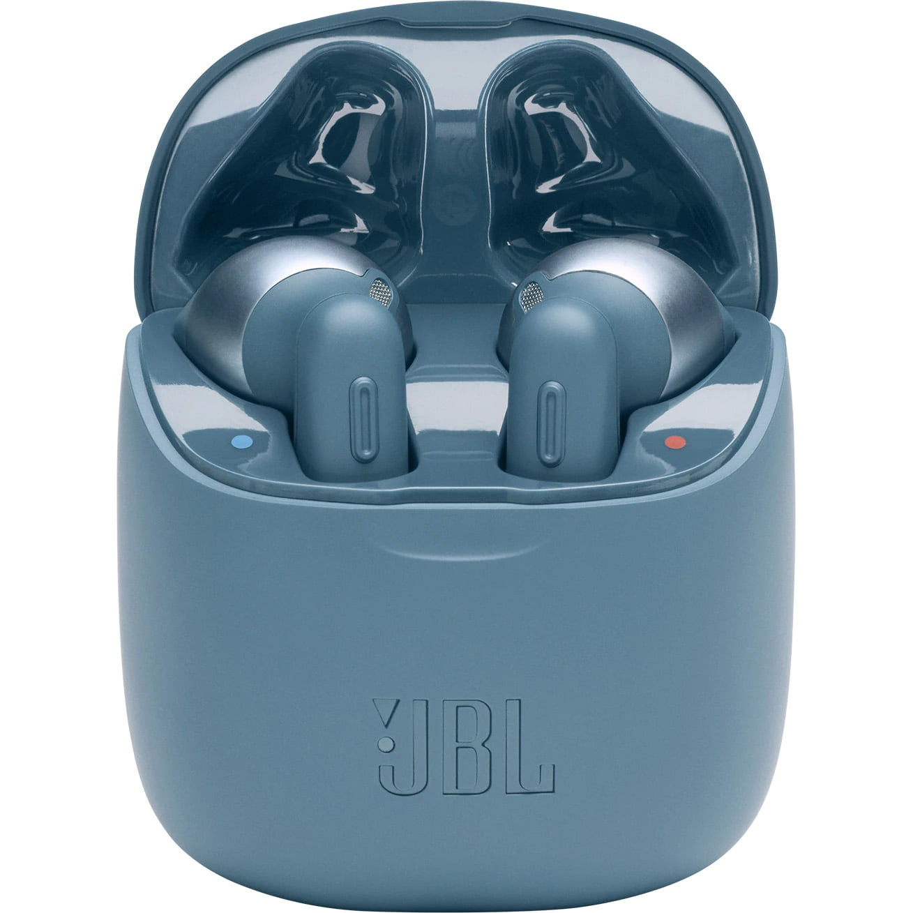 Casti In-Ear JBL Tune 220 TWS, JBL Pure Bass Sound, Bluetooth Wireless, Carcasa de incarcare, Blue
