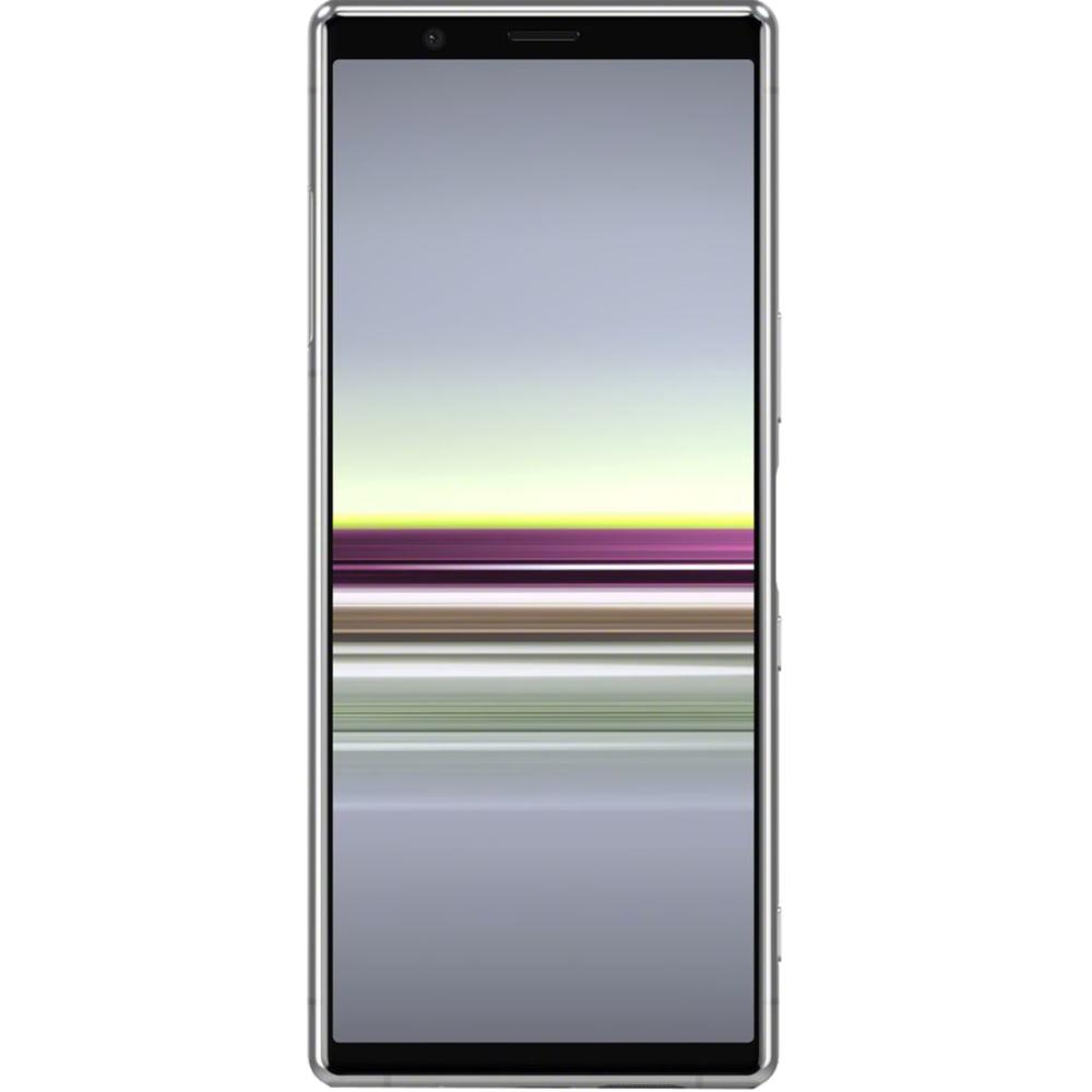 Telefon mobil Sony Xperia 5, Dual SIM, 128GB, 6GB RAM, 4G, Grey