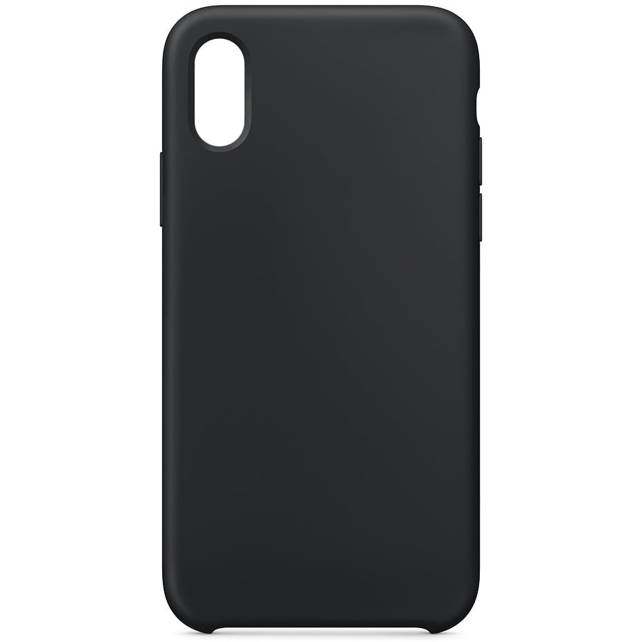 Husa silicon pentru Apple iPhone X/ XS, Soft Case, Black