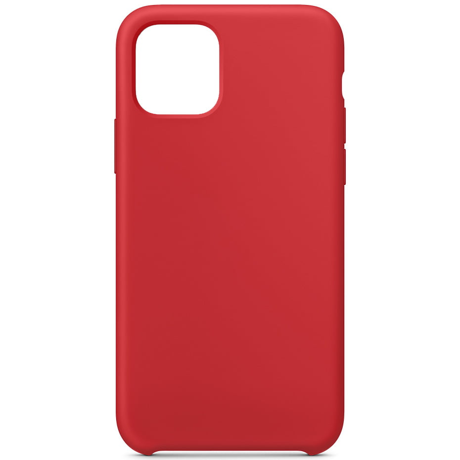 Husa silicon pentru Apple iPhone 11 Pro Max, Soft Case, Red