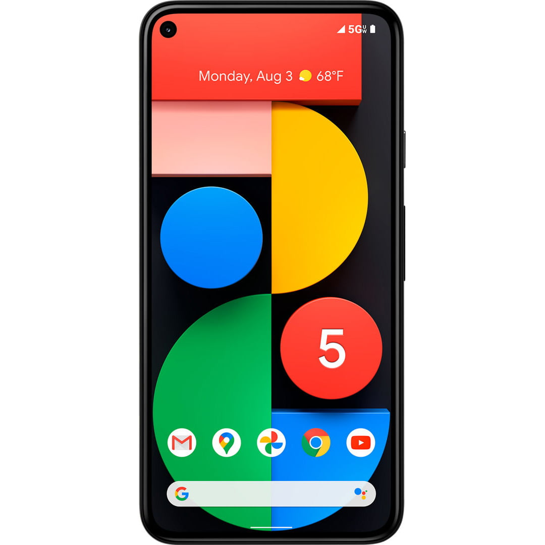 Telefon mobil Google Pixel 5, 128GB, 8GB RAM, 5G, Just Black