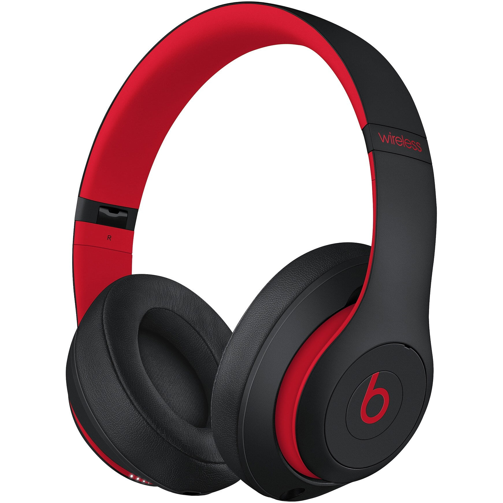 Casti Beats Studio 3 Wireless, Over-Ear, Decade Collection, Defiant Black/ Red