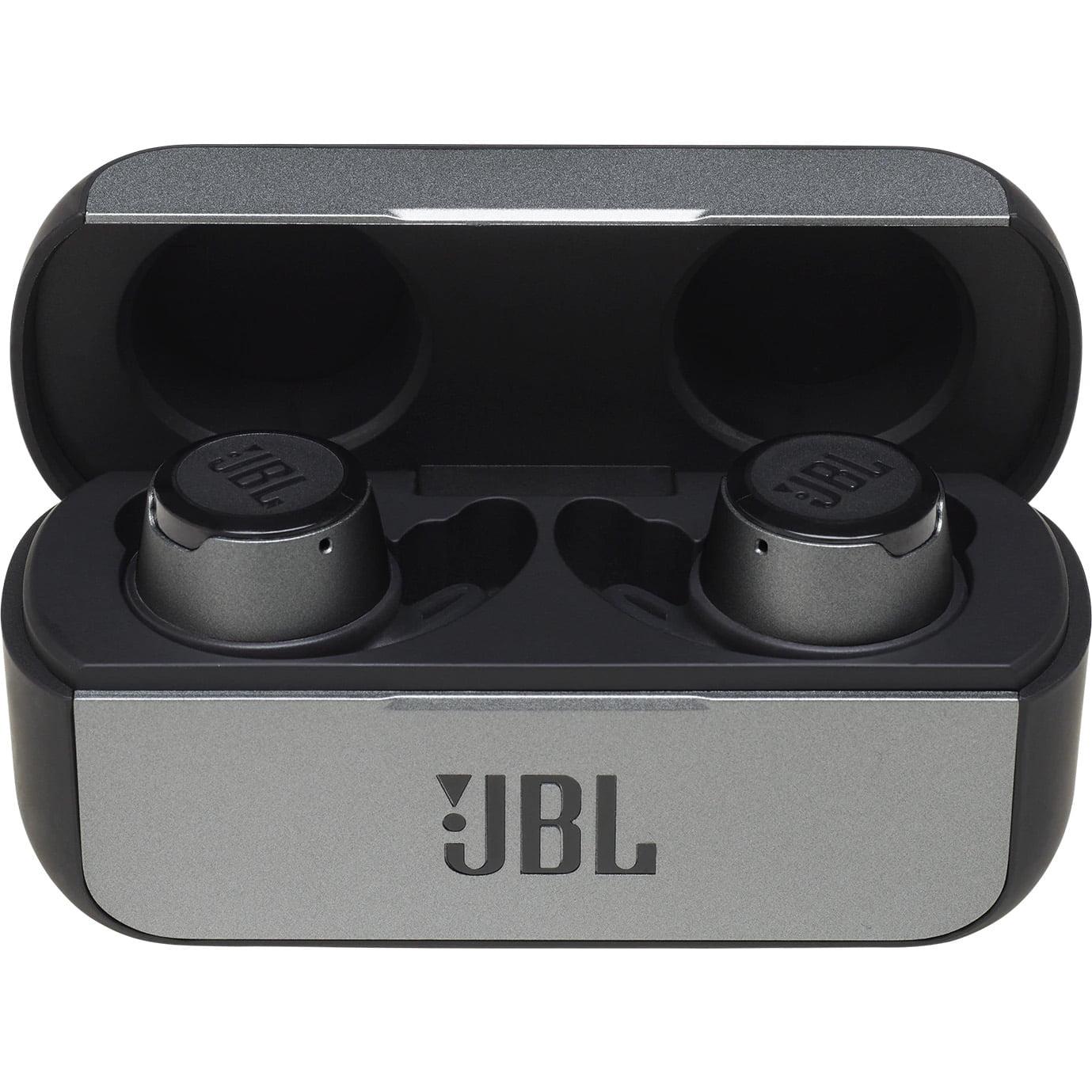 Casti In-Ear JBL ReflectFlow, JBL Signature Sound, Bluetooth Wireless, Carcasa de incarcare, IPX7, Black