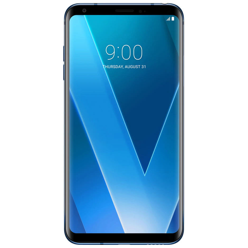 Telefon mobil LG V30, Single SIM, 64GB, 4GB RAM, 4G, Moroccan Blue