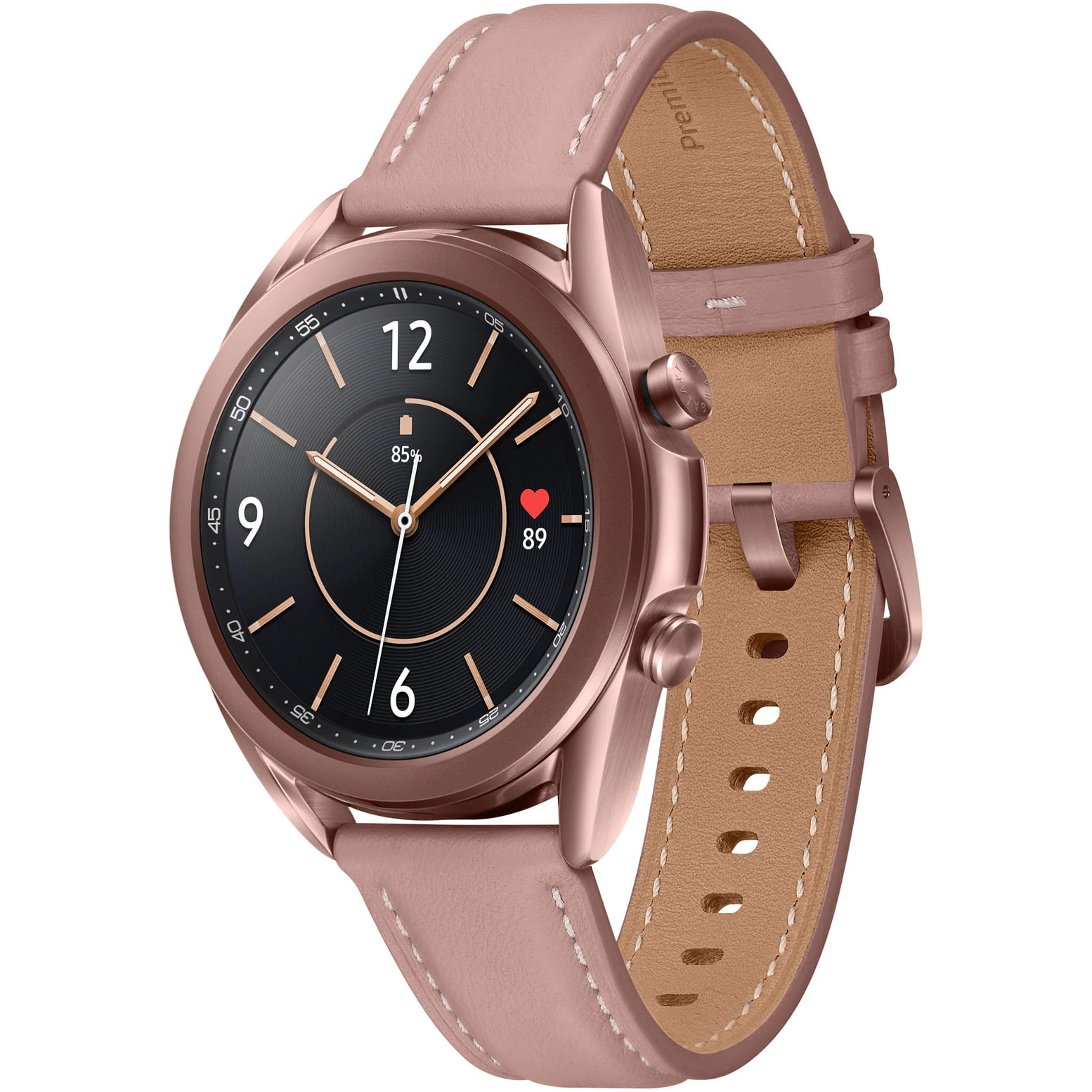 Ceas Smartwatch Samsung Galaxy Watch3, R850, 41mm, GPS, Stainless Steel, Mystic Bronze