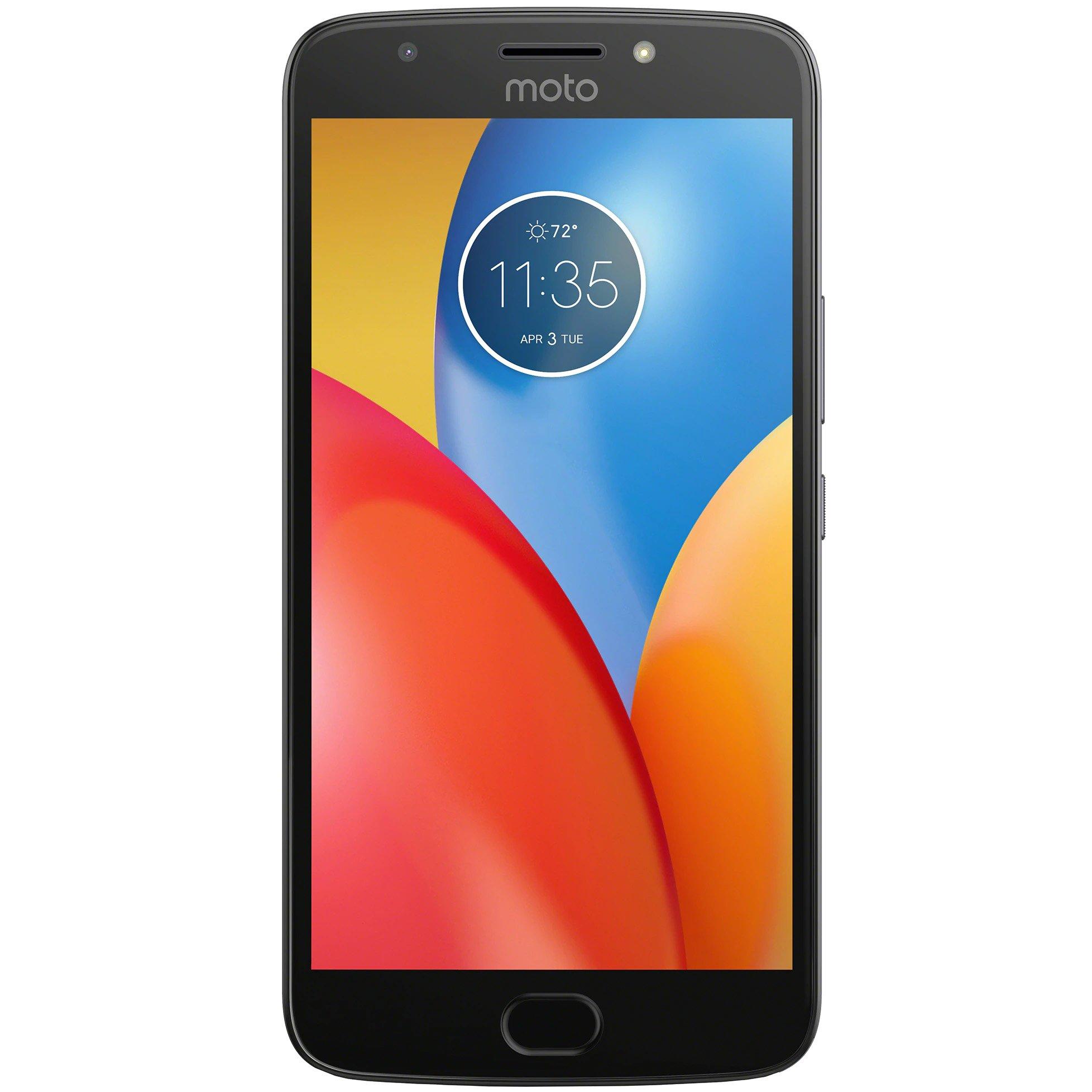 Telefon mobil Motorola Moto E4 Plus, Dual SIM, 16GB, 3GB RAM, Silver