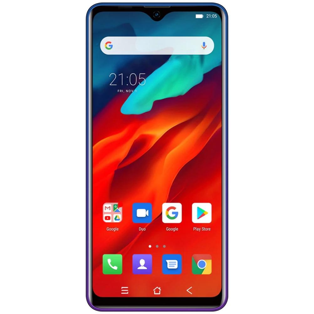 Telefon mobil Blackview A80 Pro, Dual SIM, 64GB, 4GB RAM, 4G, Blue