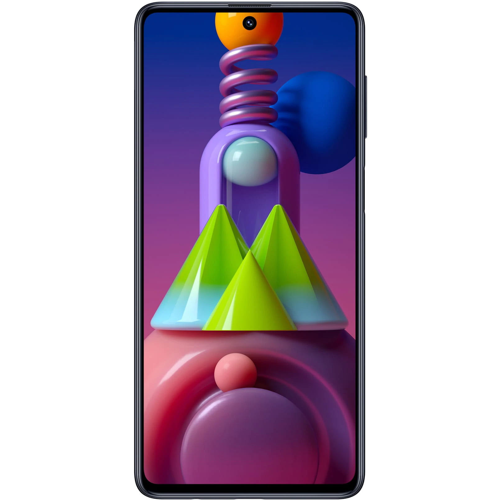 Telefon mobil Samsung Galaxy M51, Dual SIM, 128GB, 6GB RAM, 4G, Celestial Black