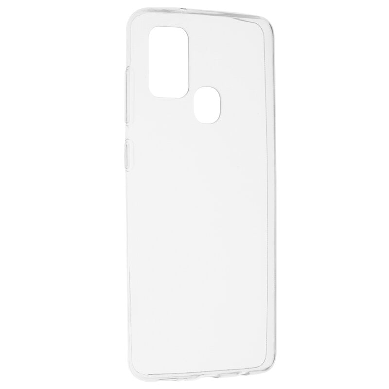 Husa Silicon pentru Samsung Galaxy A21s, Transparent