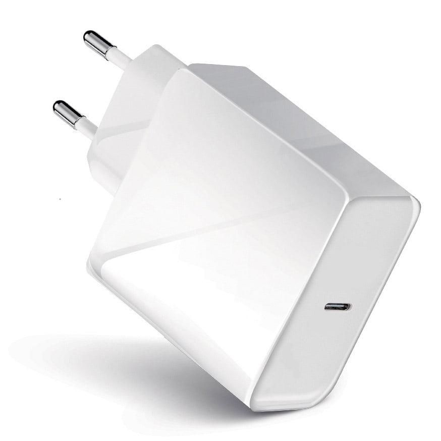 Incarcator retea Travel 45W, Quick Charge 4.0, USB-C, White