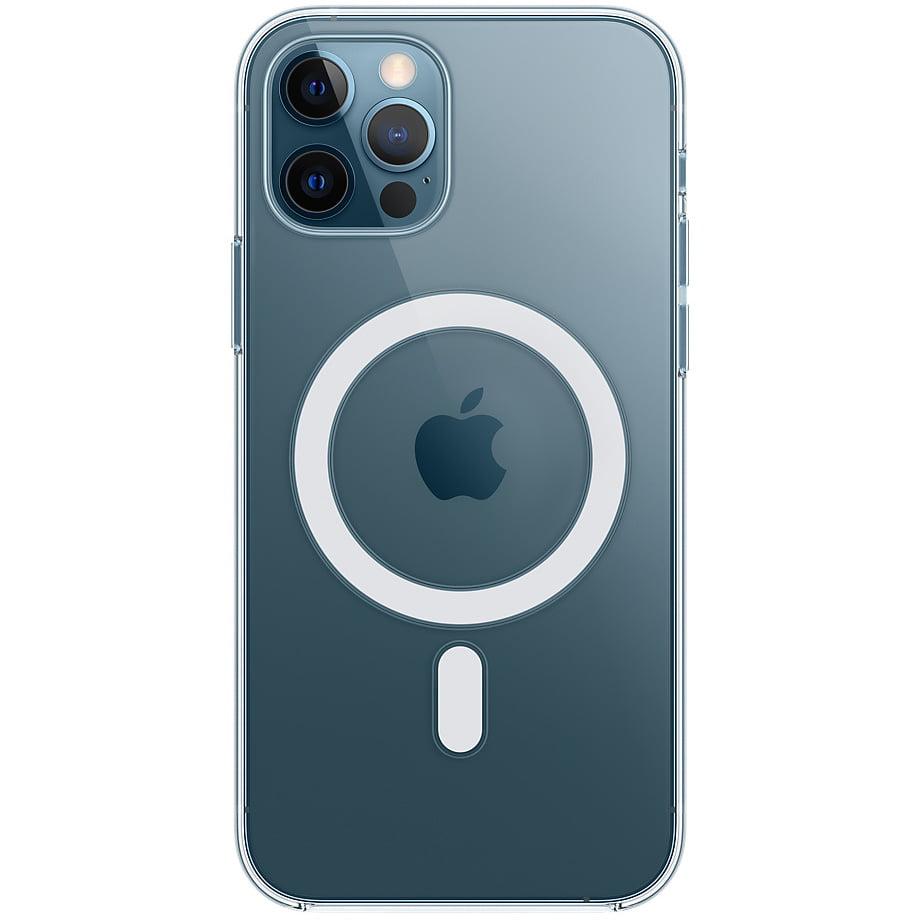 Husa silicon originala pentru Apple iPhone 12/ 12 Pro, MHL73ZM/A, MagSafe, Clear