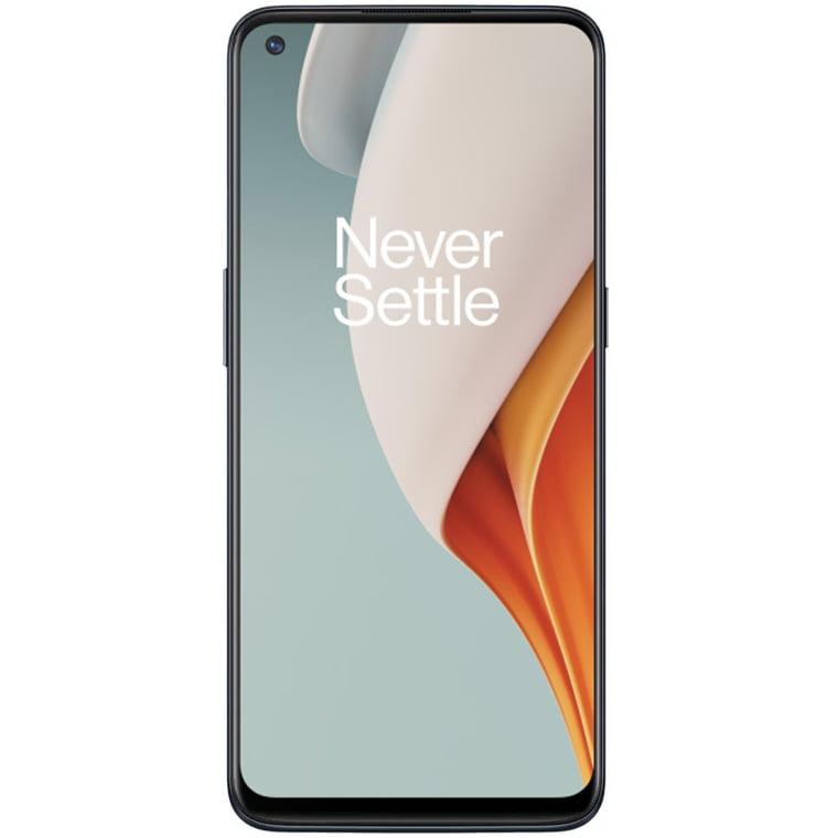 Telefon mobil OnePlus Nord N100, Dual SIM, 64GB, 4GB RAM, 4G, Midnight Frost