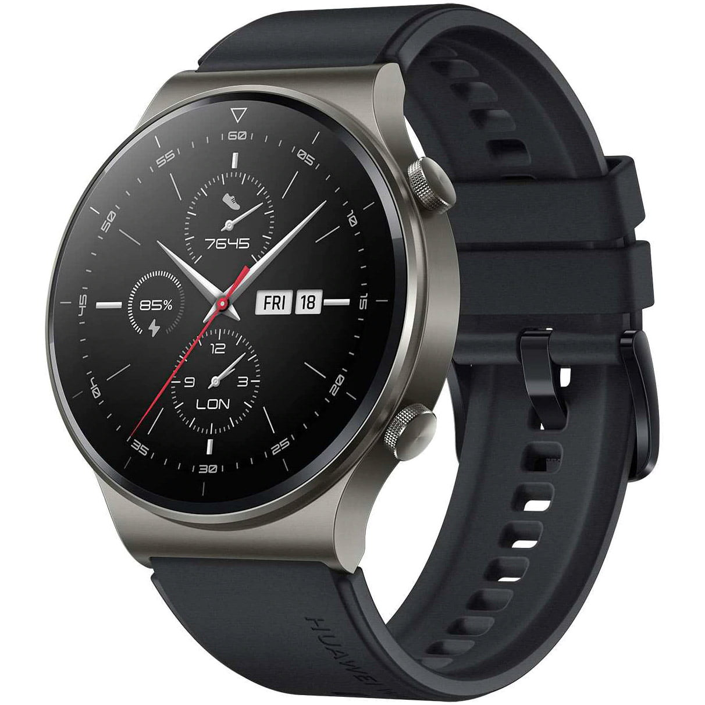 Ceas Smartwatch Huawei Watch GT 2 Pro, GPS, HR, Night Black